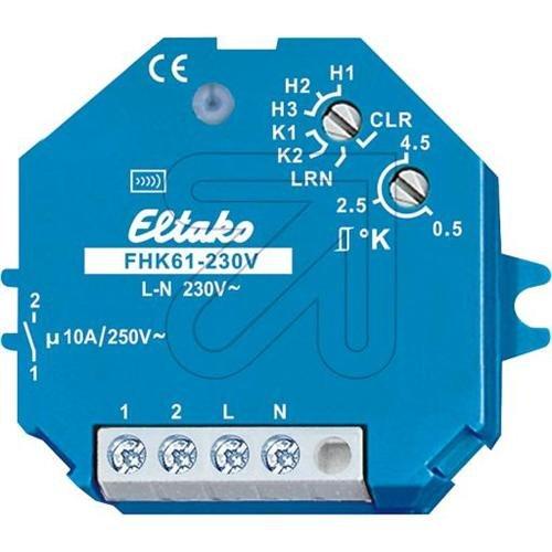 ELTAKO FHK61/230V - TELERRUPTOR RELE INALAMBRICO FSR61NP 230V