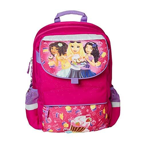 Lego Friends Starter Plus Cupcake Kinder-Rucksack, Pink
