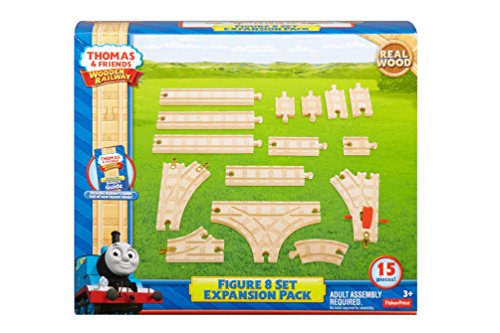 Fisher Price Y4088 - Thomas Wooden Railway Figure of 8 Expansion Pack - Thomas the Tank Engine and Friends