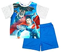 Boys Official Batman Vs Superman Dawn of Justice Shorty Pyjamas sizes from 3 to 10 Years
