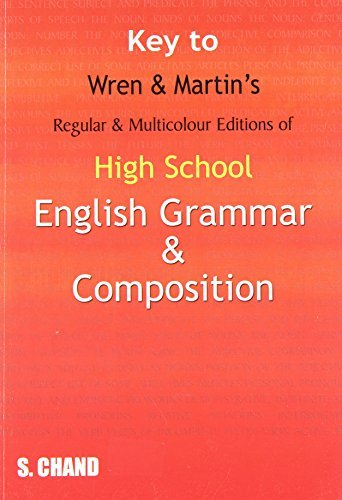 Key to High School English Grammar and Composition by P.C. Wren (2006-03-01)