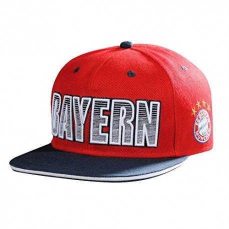 Flatcap Kids FC Bayern MÜNCHEN Munich + gratis Sticker, Cap, Basecap, Base-Cap, Mütze, Hut, chapeau, sombrero, Baseballcap