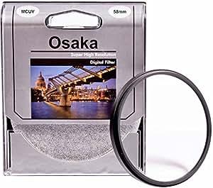 Osaka 4 Layer Multi-Coated UV Filter for Canon EOS (58mm, Multicolour)