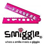 Smiggle Smile and giggle pieghevole righello da regalo Maxmilli Collections rosa