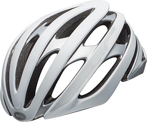 Bell Erwachsene Stratus MIPS Fahrradhelm, Matte White/Silver Reflective, L