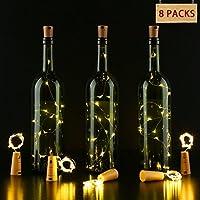 Colore: bianco caldoCaratteristiche:Questa mini corda a forma di bottiglia è realizzata con un filo di rame sottile e pieghevole che può adattarsi qualsiasi forma tu voglia.L'effetto luminoso è ottimo per creare un'atmosfera romantica, ideale...