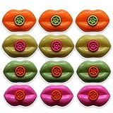 Henbrandt the Harlequin Brand - Silbatos de Labios (24 Unidades), diseño de Sirena
