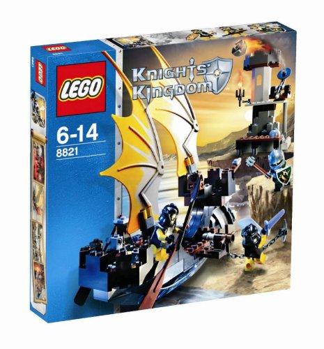 LEGO Knights' Kingdom - 8821 Nave Caballero Sombra