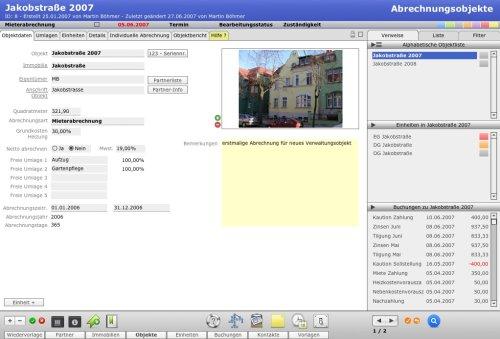 Intex Hausverwaltung vX XL Mac OS X Version 7