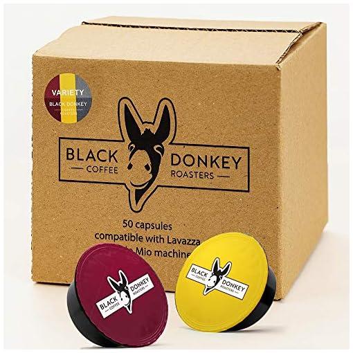 Black Donkey Coffee Roasters – 50 Lavazza A Modo Mio Compatible Capsules