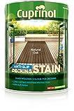 Cuprinol Anti Slip Decking Stain Natural Oak 5L by Dulux