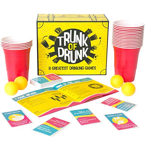 runk of Drunk-8 Greatest Drinking Games (Bier Pong, Ring of Fire, Never Have I Ever and More) ()