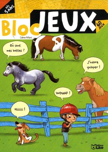 Les blocs jeux : Bloc Jeux Poneys - De 5...