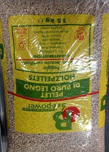 Pellets kg 15 faggio 100% biopower
