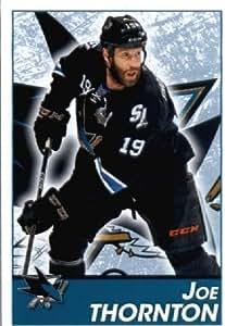 2013-14 Panini NHL Hockey Sticker # 270 Joe Thornton