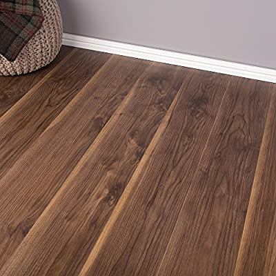 2.47m2 Domestic Commercial AC3 Laminate Flooring - Virginia Walnut 7mm produced by Brooklyn - quick delivery from UK.