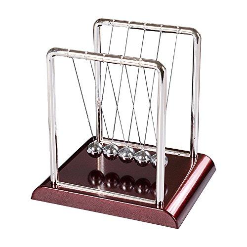 Eastlion Pendel Arch Spielzeug Newton's Cradle Balance Ball Tisch Schreibtisch Dekoration, Modell C, 17.5 x 15 x 18cm (X 15-modell)