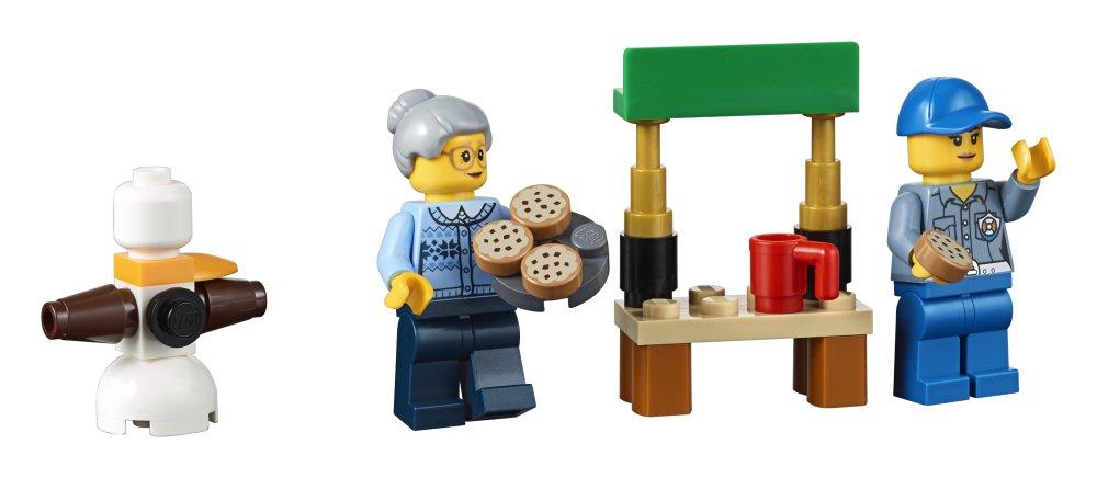 LEGO- City Calendario dell'Avvento, Multicolore, 60155 4 spesavip