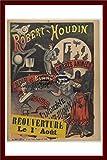 ™ Magie Robert HOUDIN Rf69 - Poster/Reproduction A3+ (33x48cm) d'1 Affiche Vintage/Ancienne/Rétro (BR*)