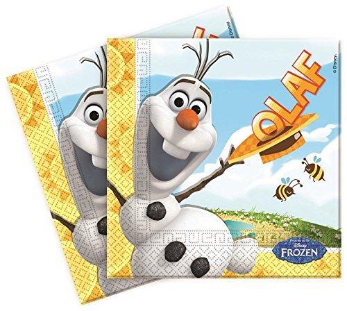 20Disney 's Frozen Sommer Olaf Schneemann Party Lunch Papier Servietten (Frozen Party Tea)