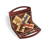 Spiele der Antike–Brettspiel, Holz mit ROT Stiel Games Pico Pao 149