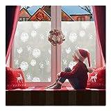 rabbitgoo Fensterfolie Selbstklebend Sichtschutzfolie Milchglasfolie für Bad statische Folie Anti UV mit Motiv Muster Upgrade Pusteblume 90 x 200CM