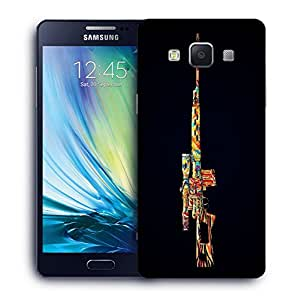 Snoogg Colorful Sniper Designer Protective Back Case Cover For SAMSUNG A5