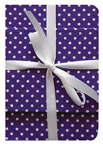 Porte-cartes de voeux pourpre et sac ˆ dos violet - Set brillant