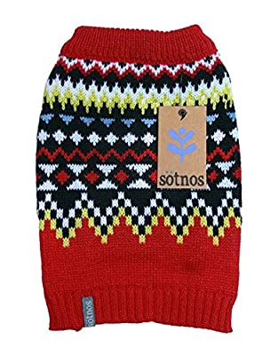 Sotnos Funky Fairisle Sweater, Large