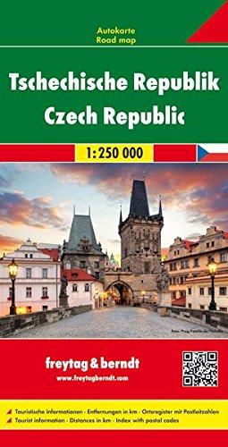 Repubblica Ceca 1:250.000 (Auto karte) por Freytag & Berndt