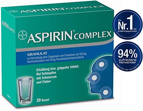 Erkältung Aspirin (ASPIRIN COMPLEX 20 stk)
