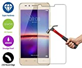 ZEWOO pour Huawei Y3 2ème Generation (4.5 Pouces) Protection écran en Verre Trempé Film Protecteur d'écran (9H *2.5D, 0,33mm)