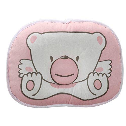 SODIAL(R) Baby Schlaf Baer Stellungsregler Saeugling Unterstuetzung Weich Kissen, rosa