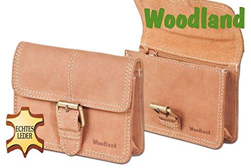 Woodland – marsupio con fibbia in pelle di bufalo naturale