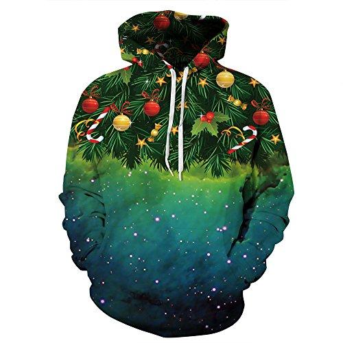 Quicksilver Jacke Kostüm - DAXIAL Kapuzenpullover 3D Gedruckter Reißverschluss Pullover, Hoodie Pullover Jacke Für Männer Und Frauen, M