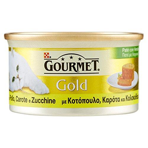 GOURMET GOLD Patè con pollo carote e zucchine umido gatto gr. 85