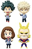 In the Information mini My Hero Academia all four set