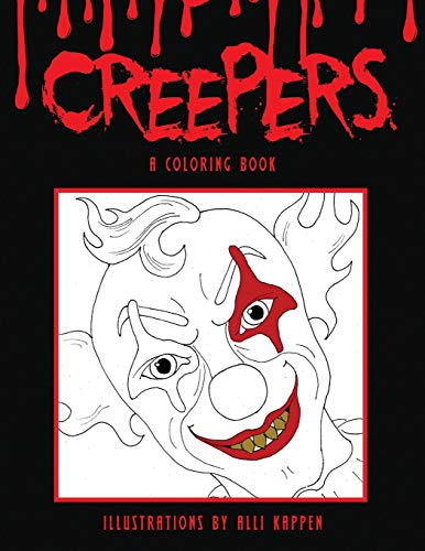 Creepers: A Coloring Book