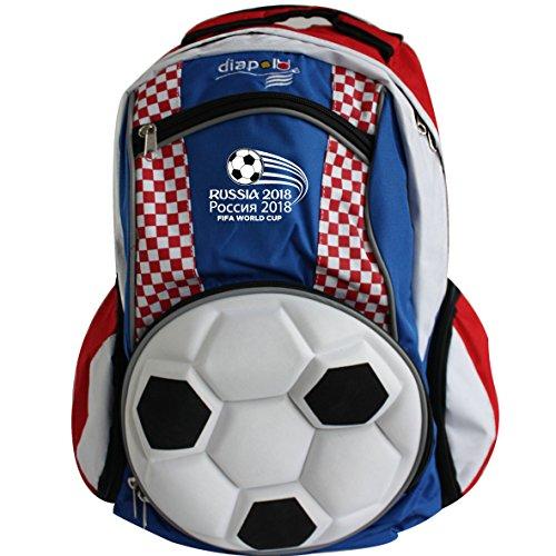 Diapolo Croacia Copa Mundial de Fútbol Profesional Función de Mochila Mochila Bolsa de Deporte