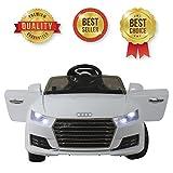 Best Audi enfants voitures électriques - Voiture électrique Audi TT pour enfants | SABWAY Review