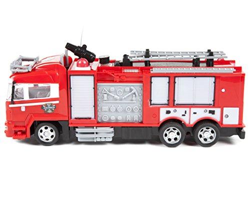 RC Feuerwehr kaufen Feuerwehr Bild 1: World Tech Toys 34980 Feuerwehrauto, Rot*