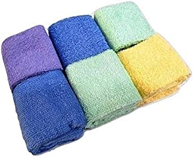 Bombay Dyeing 3 Piece 450 GSM Cotton Face Towel - Blue