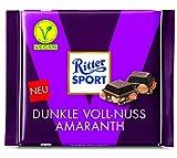 Ritter Sport Dunkle Voll-Nuss Amaranth, 10er Pack (10 x 100 g)