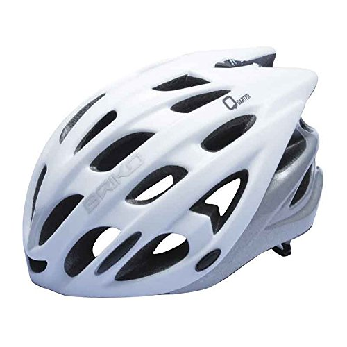BRIKO Casco ciclismo unisex in-moulding technology QUARTER bianco matt 013593