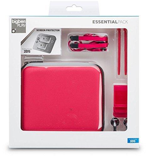 Nintendo 2DS - Zubehör-Pack Essential (Rot) Sandra Folie