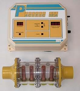 Pacific industrie - pacific sea 70 - Traitement automatique par electro-ionisation cuivre/argent