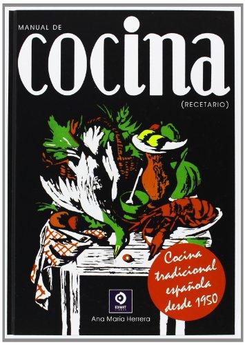 Manual de cocina : recetario