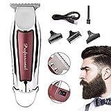 MJ-Hair Clippers Haarschneider Tragbare USB Lade Haarschneider Haarschneider Bart Rasiermesser...