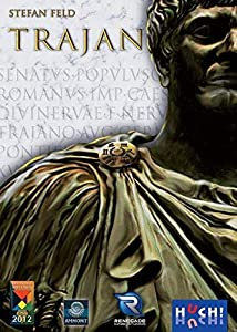Huch&Friends 400159 Trajan - Juego sobre Antigua Roma (en alemán)