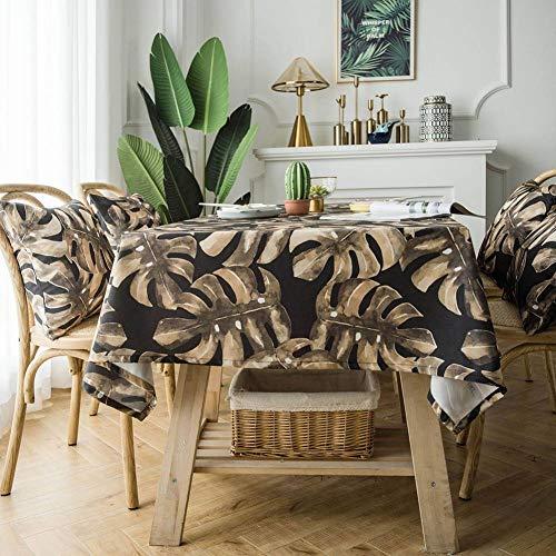 wasserdichte tischdecke, Polyester Baumwolle rechteckigen tv-Schrank couchtisch Abdeckung Handtuch tischdecke, dekorative tischdecke -
